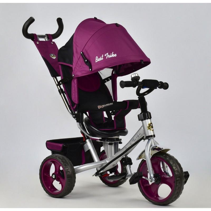 Велосипед 3-х колёсный 5700-4450 Best Trike фиолетовый