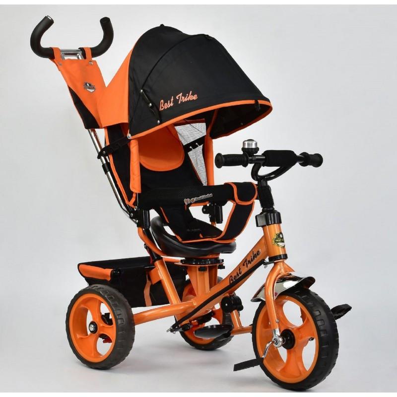 Велосипед 3-х колёсный 5700-4780 Best Trike оранжевый