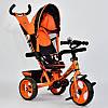 Велосипед 3-х колёсный 5700-4780 Best Trike оранжевый, фото 2