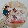 """Надувной манеж """"Пончик"""" игровой центр Intex 48476 127 x 61 см, фото 2"""