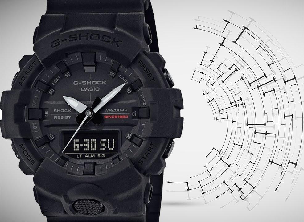 Часы Casio G-Shock GA-835A-1A 35th Anniversary