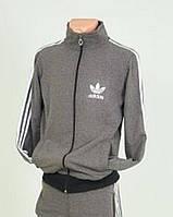 Cпортивная мужская кофта серого цвета