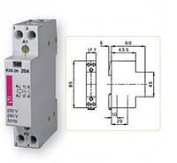 Контактор R 20-20 230V AC 20A (AC1)