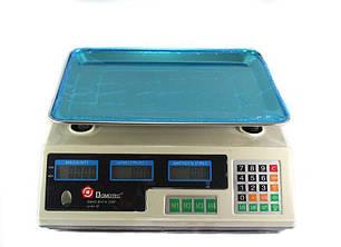Ваги електронні торгівельні до 50 кг Domotec MS-228, фото 2