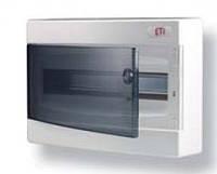 Щит внутр. распределительный ECМ 24PT (24мод.прозр.дверь)