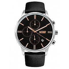 Часы Skmei 9103 Black Dail Black Strap BOX (9103BOXBKBKS)