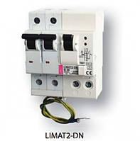 Диф.авт.выкл. со встроенной защитой от перенапряжения LIMAT-2 DN 2p C 16/0,1 (AC)