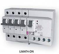 Диф.авт.выкл. со встроенной защитой от перенапряжения LIMAT-4 DN 4p C 50/0,1 (AC)