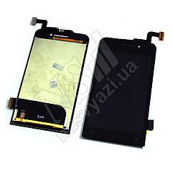 Дисплей ASUS A400cg Zenfone 4 с черным тачскрином