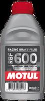 Тормозная жидкость Motul RACING BRAKE FLUID 600 FACTORY LINE 500 мл 806910