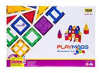 Акция! Конструктор Playmags магнитный набор 150 эл. PM156 [Скидка 5%, при условии 100% предоплаты!]