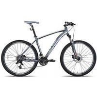 "Велосипед 27,5"" PRIDE XC-650 MD рама - 17"" черно-серый матовый 2015"