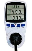 Энергометр измеритель мощьности счетчик электроэнергии в розетку Feron TM55