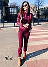 Женский костюм повседневный брючный с люрексом 36kos974, фото 3