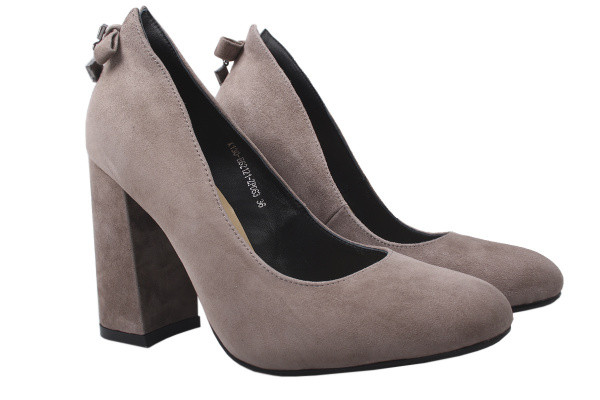 Туфли Lady Marcia натуральная замша, цвет капучино