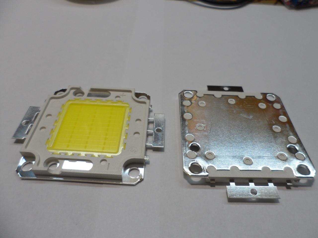 Светодиод 30 w 6500К cooper матрица 30w для прожектора 30w 32-34v