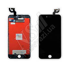Дисплей APPLE iPhone 6S Plus с черным тачскрином оригинал (TW)