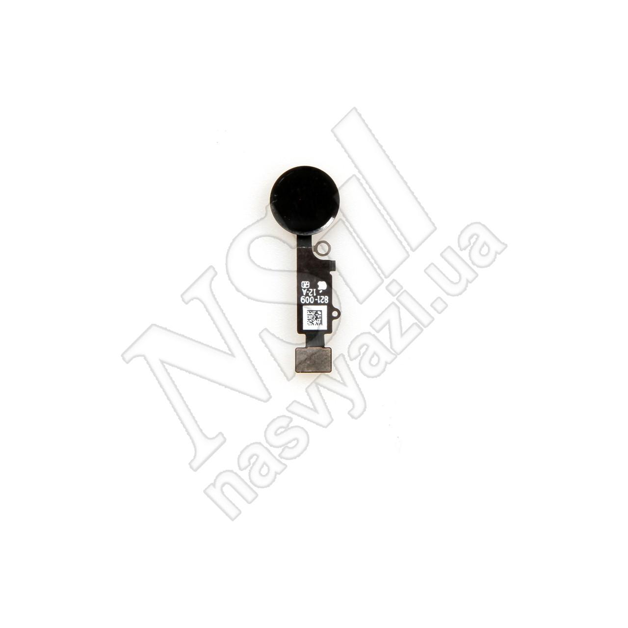 Шлейф APPLE iPhone 7 с кнопкой HOME чёрной