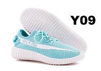 36 размер Кроссовки женские кеды копия Adidas Sply 350 мятные бирюзовые для занятий спортом, фитнеса, бега