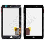 Тачскрин ACER A100 Iconia Tab с рамкой черный