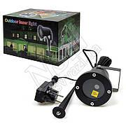 Лазерный проектор Outdoor Laser Lights разноцветный