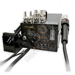 Паяльная станция YA XUN YX968 компрессорная (фен и паяльник, с дымоулавливателем)