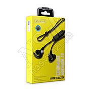 Наушники Bluetooth CELEBRAT A7 Wireless Magnetic Suction вакуумные с гарнитурой, черные