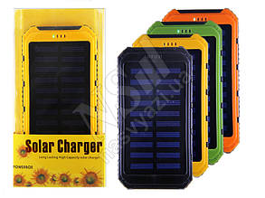 Дорожная зарядка Power Bank SOLAR 1A/2A 6000mAh