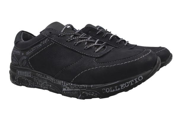 Туфли комфорт Konors натуральная кожа, цвет серый
