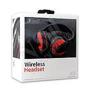 Наушники Bluetooth CELEBRAT A9 Wireless Headset красные