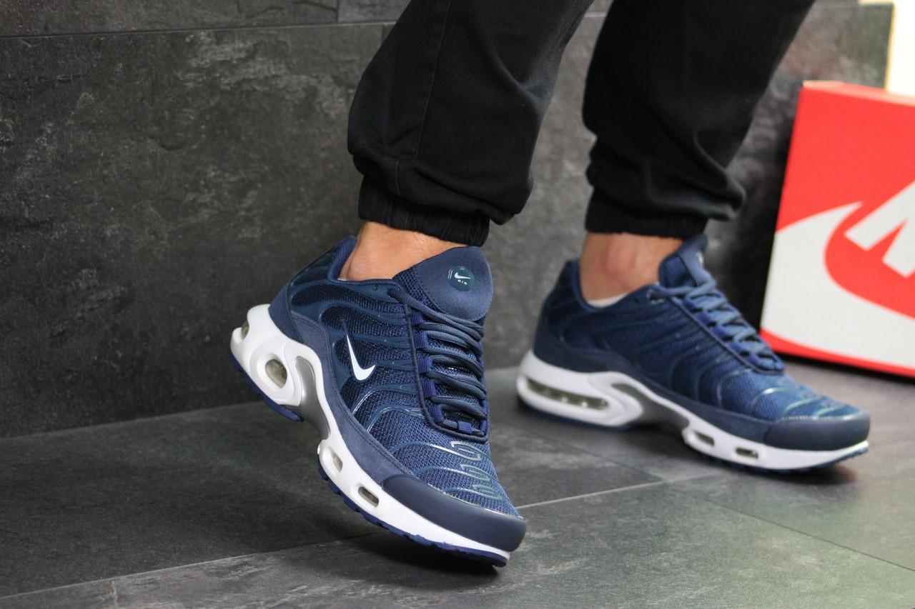 54bbfd43 BT.Yavshoke.ua™ | Мужские кроссовки синие с белым Nike Air Max TN ...