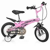 Детский двухколесный велосипед для девочки PROFI 12 дюймов Projective LMG12122