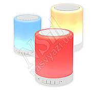 Колонка Bluetooth S-66 Touch Sound Lamp цветная