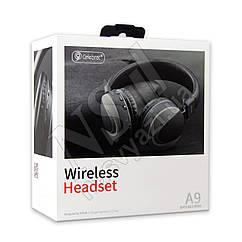 Наушники Bluetooth CELEBRAT A9 Wireless Headset серые