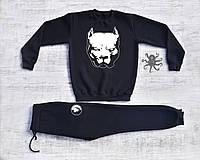 Мужской спортивный костюм (кофта+штаны), чоловічий спортивний костюм Pitbull питбуль