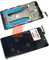 Модульный дисплей для Xiaomi Redmi 4 Prime, Redmi 4 Pro   Экран + тачскрин черный с передней панелью ориг PRC