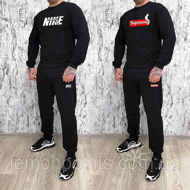 d5e40633 Мужской спортивный костюм, чоловічий костюм Nike (черный), Реплика L, цена  687 грн., купить в Харькове — Prom.ua (ID#897650878)