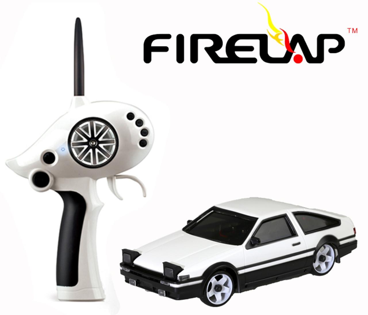 Автомодель на радиоуправлении 1к28 Firelap IW02M-A Toyota AE86 2WD. белый