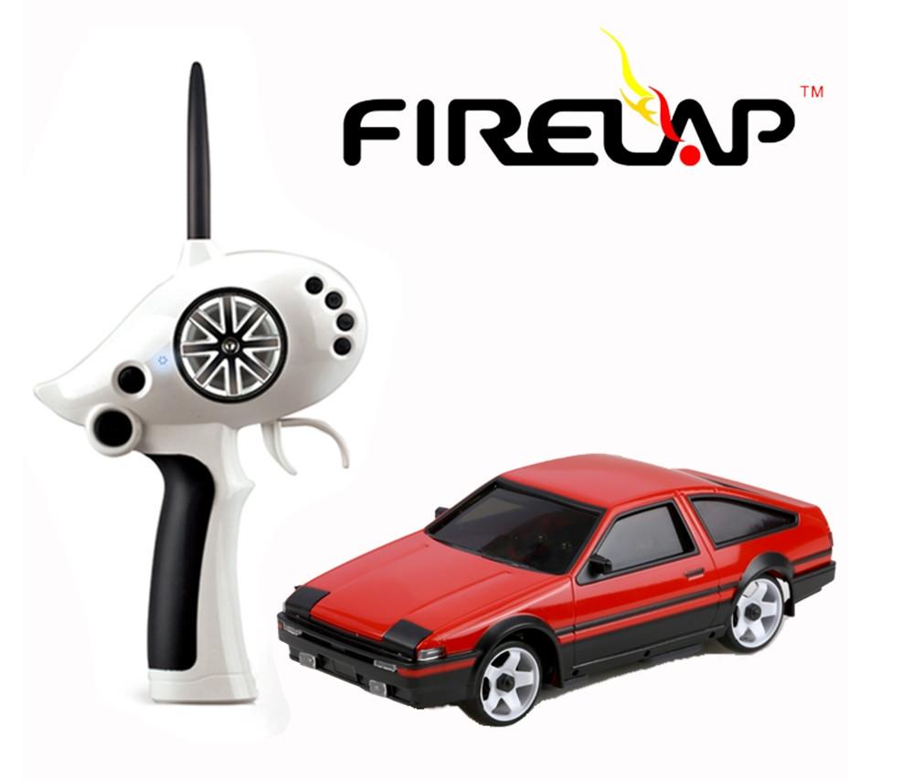Автомодель на радиоуправлении 1к28 Firelap IW02M-A Toyota AE86 2WD. красный
