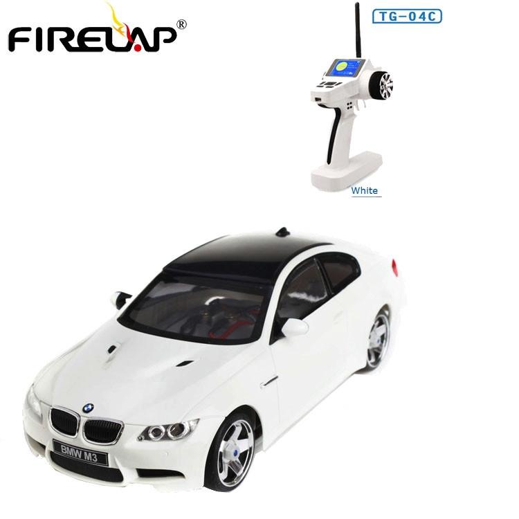 Автомодель на радиоуправлении 1к28 Firelap IW04M Bmw M3 4WD. белый