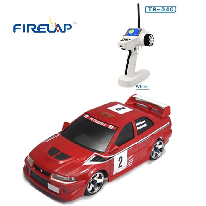 Автомодель на радиоуправлении 1к28 Firelap IW04M Mitsubishi Evo 4WD. красный