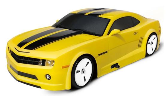 Дрифт 1к10 Team Magic E4D Chevrolet Camaro. желтый
