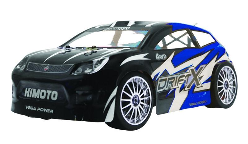 Дрифт 1к18 Himoto DriftX E18DT. синий