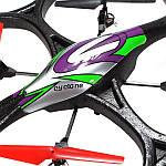 Квадрокоптер большой на радиоуправлении 2.4ГГц WL Toys V333 Cyclone 2, фото 5
