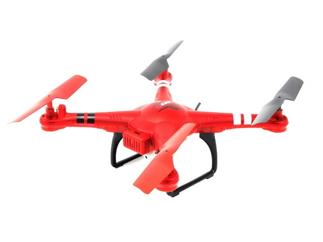 Квадрокоптер на радиоуправлении WL Toys Q222G Spaceship с барометром и Fpv системой. красный