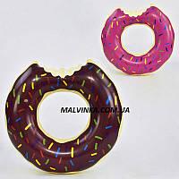 Круг для плавания арт 29043   2 цвета , 60 см в пакете.
