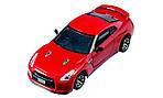 Машинка микро на радиоуправлении 1к43 лицензированный Nissan GT-R. красный, фото 3