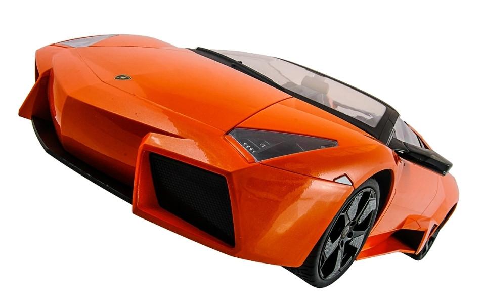 Машинка на радиоуправлении 1к10 Meizhi лицензированный Lamborghini Reventon. оранжевый