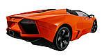Машинка на радиоуправлении 1к10 Meizhi лицензированный Lamborghini Reventon. оранжевый, фото 3