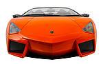 Машинка на радиоуправлении 1к10 Meizhi лицензированный Lamborghini Reventon. оранжевый, фото 5